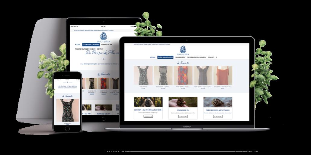 Création de site internet e-commerce - boutique en ligne - Nantes - Rezé - Pornic - La Roche sur Yon - Vendée - Angers - Cholet