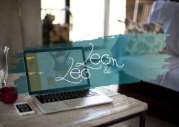 Création d'un site internet vitrine - Groupe de musique - Léo et Léon