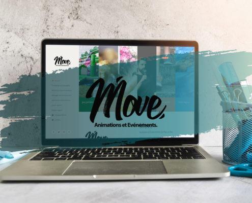 Création de site internet à Pornic / Pays de Retz / Côte de Jade - Move