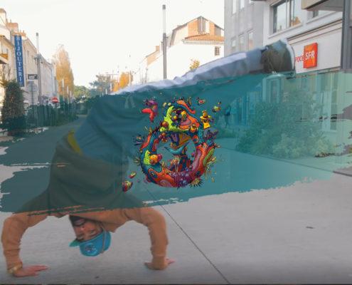 Vidéo artistique LA ROCHE SUR YON - Danse