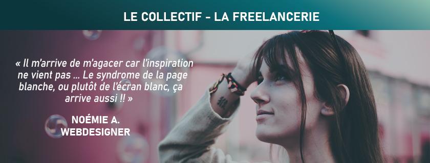 Noémie Webdesigner à La Roche sur Yon (Vendée) - LA FREELANCERIE