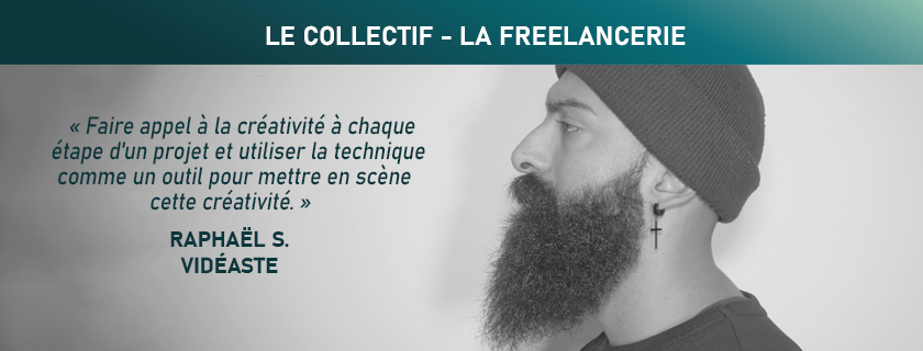 Raphaël Sauzeau - Réalisateur - Vidéaste en Vendée - LA FREELANCERIE