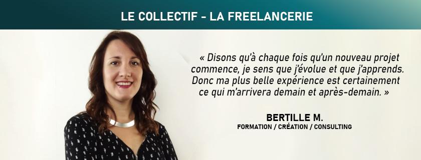 Formation création consulting communication en Vendée et Pornic - Bertille