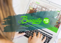 Création de site internet - Beauty Pop Up - Boulogne Billancourt