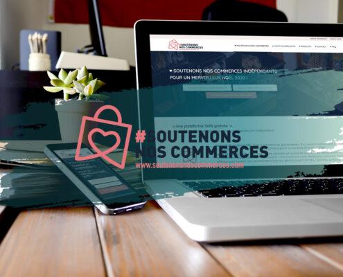 Soutenons nos commerces - Création d'une marketplace - Vendée / Loire Atlantique