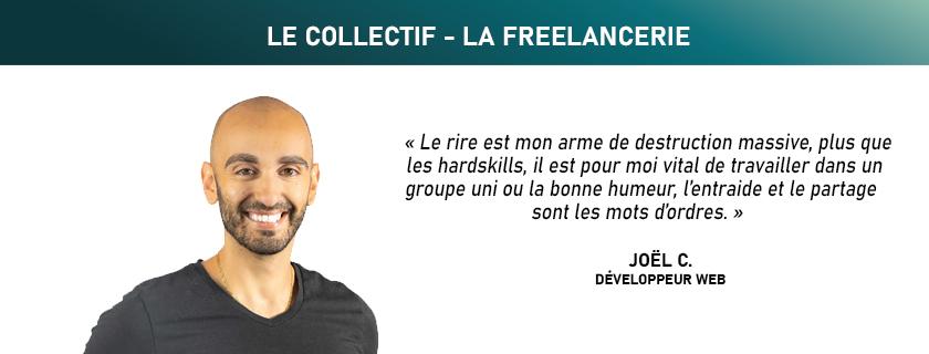 Joel CHRABIE Développeur Web / Angular-Node / Nantes - La Freelancerie